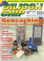Silicon Chip, August 2001